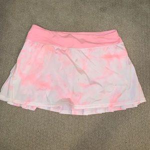 Lulu Lemon Pink Sorbet Tennis Skirt